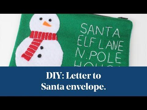 Letter to santa template diy letter to santa envelope inspiration spiritdancerdesigns Gallery
