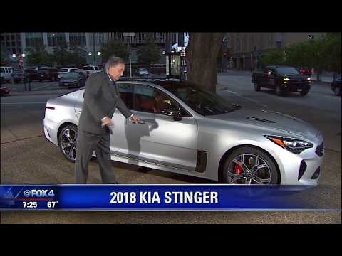Ed Wallace reviews the Kia Stinger on FOX 4's Good Day