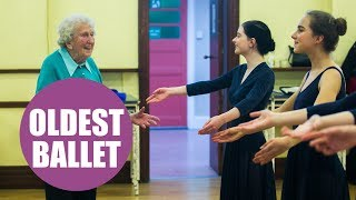 Meet the ballet dancer still teaching classes aged 97