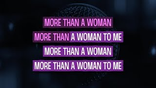 More Than a Woman (Karaoke Version) - Bee Gees | TracksPlanet