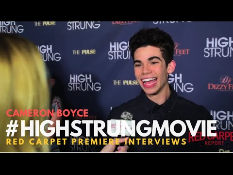 "Cameron Boyce #GamersGuide at the Red Carpet Premiere for ""High Strung"" #‎HighStrungMovie"