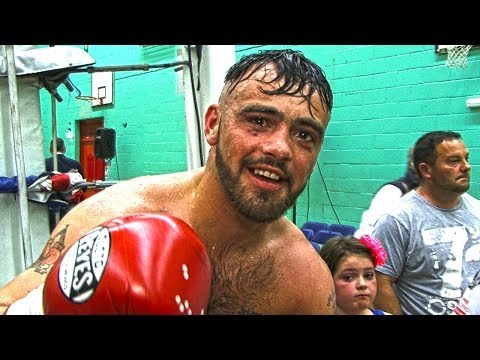 Post fight interview with Michael Maguire
