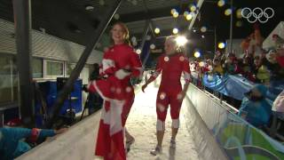 Repeat youtube video K. Humphries/H. Moyse - Two-Woman Bobsleigh - Vancouver 2010 Winter Olympic Games
