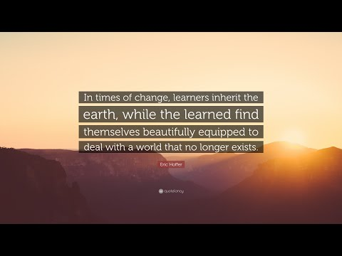 TOP 20 Eric Hoffer Quotes