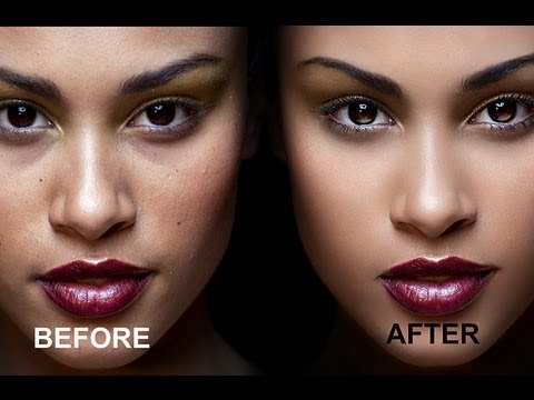 how to put face on body photoshop