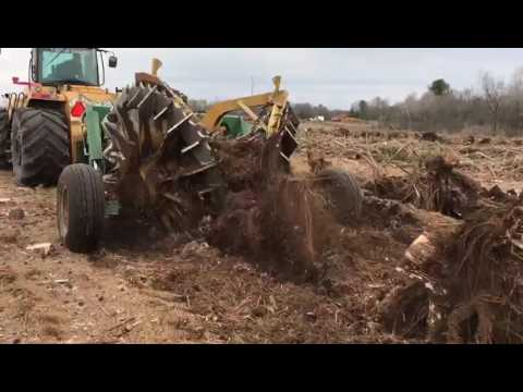 Kafka Land Clearing + Savannah Global Mega Stump Plucker