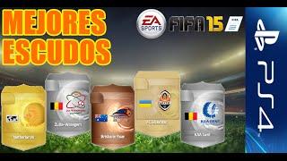 Los mejores escudos (raros, poco habituales) | FIFA 15: Ultimate team