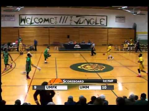 UMFK Men's Basketball vs. University of Maine at Machias - January 20, 2016