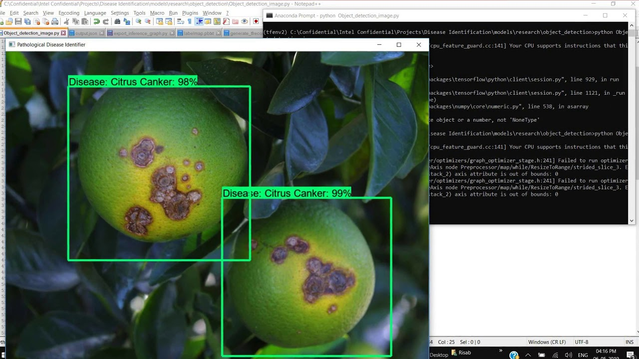 Identifying Pathological Diseases in Plants powered by TF2 0 | Devpost