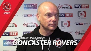 Uwe Rosler on Doncaster loss | Post Match