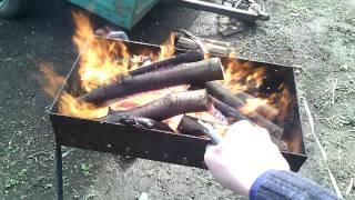 Как развести огонь