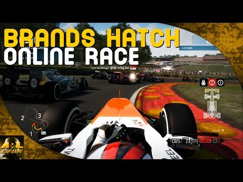 F1 2013 | Brands Hatch 100% Online Race