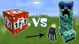 TNT Лаки Блок VS Крипер Мутант и Карлик Эндермэн! - Лаки Битва #24