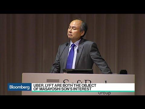 Masayoshi Son's SoftBank Eyes Stake in Uber, Lyft