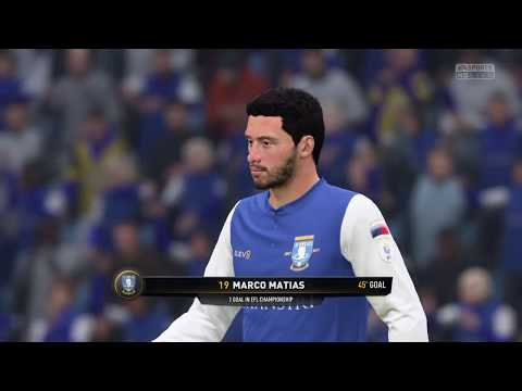 Sheffield Wednesday Career Mode | Season One | Sheffield Wednesday V Burton Albion