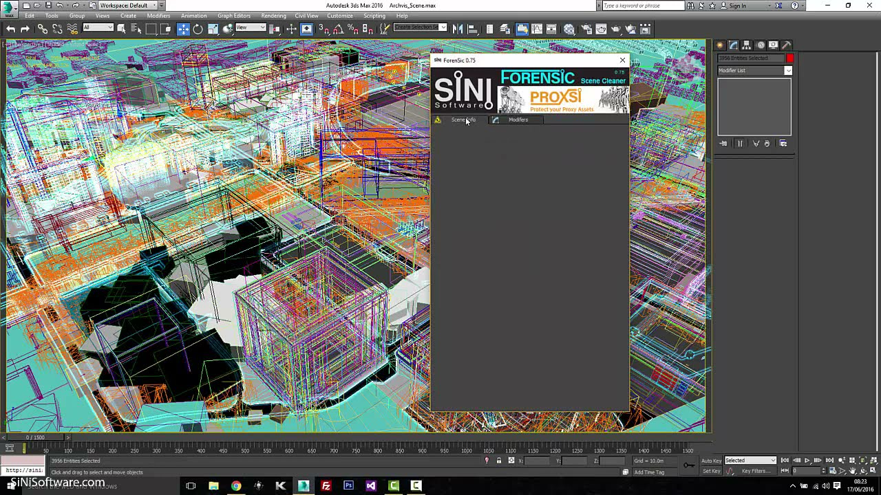 Forensic 3ds max plugin   SINI Software