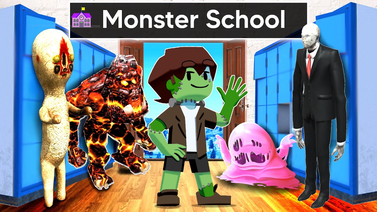 Joining MONSTER SCHOOL In GTA 5 ...