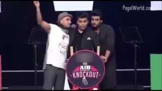 AIB Knockout Roast Arjun Kapoor , Karan Johar , Ranveer Singh