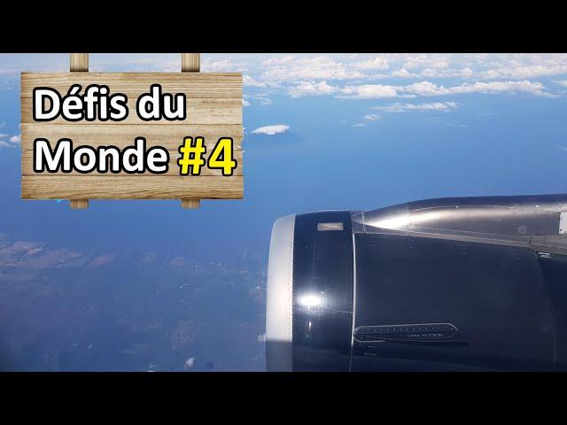 Prendre un vol au hasard à l'aéroport - Défi #4 - Nomades 2.0