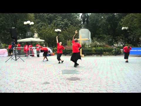 Raise Him Up Praise Dance Outreach - Students 2