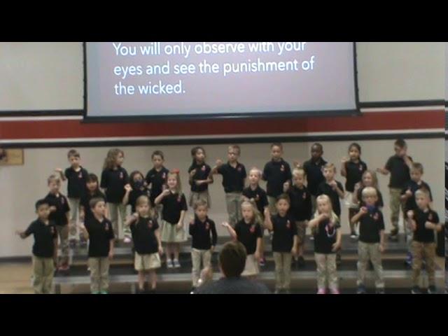 Kindergarten Presents -- Psalms 91