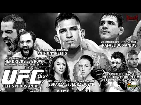 UFC 185: Pettis vs dos Anjos Predictions- Kamikaze Overdrive MMA