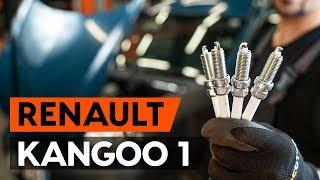 Replacing Shock Absorber on RENAULT KANGOO: workshop manual