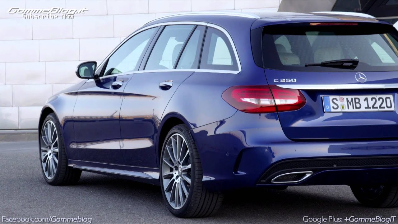 2014 all new mercedes benz c class 250 cdi estate youtube. Black Bedroom Furniture Sets. Home Design Ideas