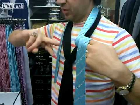 Quick and easy way to tie a tie youtube quick and easy way to tie a tie ccuart Images