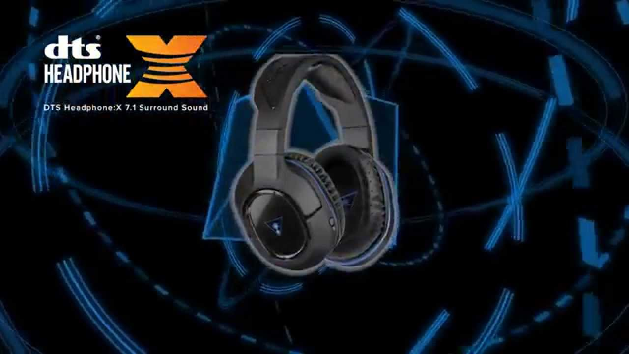 c64b99f4370 Turtle Beach Ear Force Stealth 500P Wireless DTS Surround Sound Gaming  Headset for PS4 & PS3