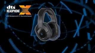 turtle beach ear force stealth 500p wireless dts surround sound gaming headset for ps4 ps3