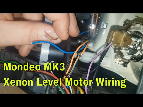 How to wire Xenon Leveling on Mondeo mk3 (2001-2007)