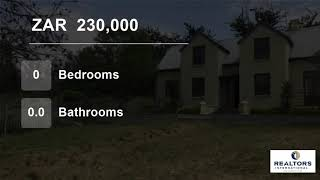Vacant Land For Sale in Swellendam, Western Cape, South Africa for ZAR 230,000