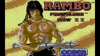 Rambo: First Blood Part II Longplay (C64) [50 FPS]