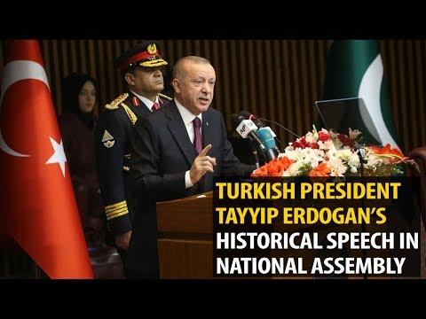 Turkish President Tayyip Erdogan's historical speech in National Assembly
