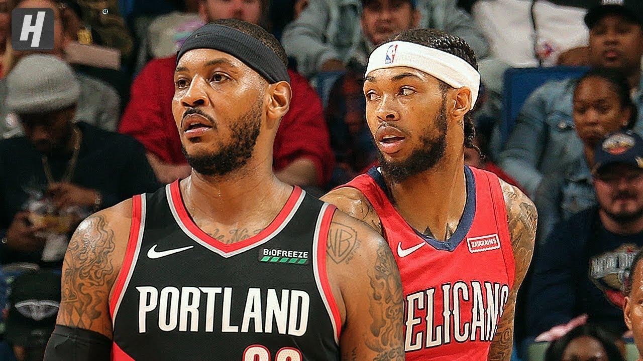 Portland Trail Blazers Vs New Orleans Pelicans Full Highlights