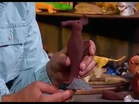 Creations in Clay Sea Horse