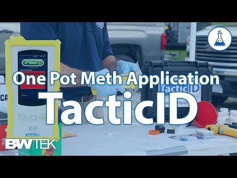 TacticID - One Pot Meth Application Overview With Brian Escamilla Of NES