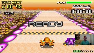 Let's Play F-Zero - MaxVelocity I Part 155 I Jet vs. Violet in der Bishop League