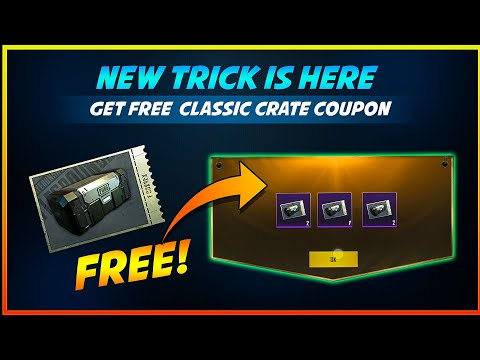😱 New Trick! Get Free 5 Classic Crate Coupon in PUGB Mobile – BandookBaaZ