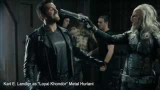 [2015 AUG] Best Fight Alien vs 5 guards: Karl E. Landler feat. Scott Adkins in Metal Hurlant