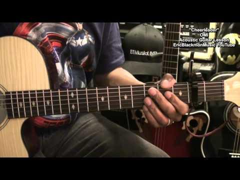 CHEERLEADER OMI Easy Guitar Tutorial Beginners Picking Strumming Chord TABS