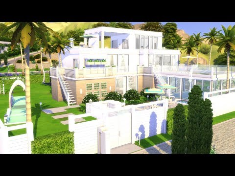 THE SIMS 4: SPEED BUILD // MODERN FAMILY MANSION // NO CC thumbnail