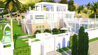 THE SIMS 4: SPEED BUILD // MODERN FAMILY MANSION // NO CC