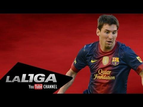 Golazo de Lionel Messi en el Real Zaragoza - FC Barcelona J32 Liga BBVA 2011/2012 Edición Limitada
