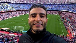 EERSTE KEER NAAR FC BARCELONA vs REAL MADRID !