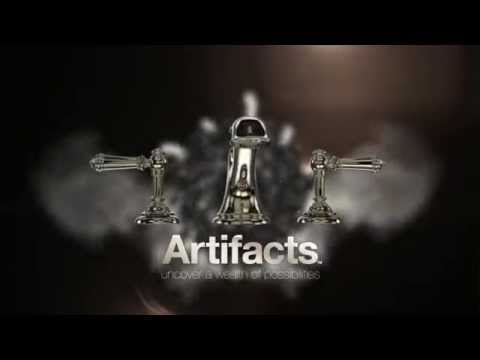 The Artifacts Faucet and Accessory Collection by Kohler