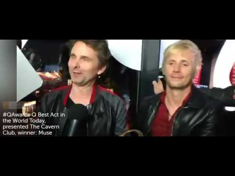 Muse at the Q Magazine Awards 02 Nov 16