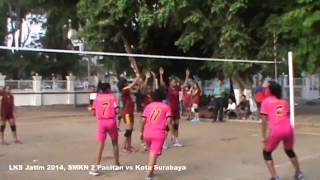 LKS Jatim 2014, SMKN 2 Pacitan vs Surabaya