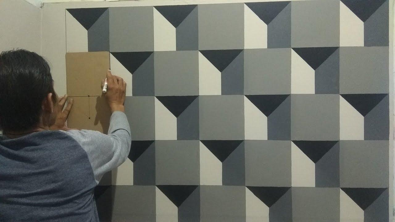 3d 018 Cat Tembok 3d 3d Wall Painting 3d Wall Decoration Design Lukisan Desain Dinding Kreatif